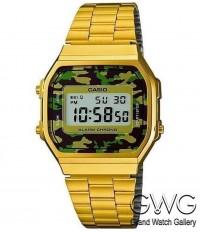 Casio A168WEGC-3EF мужские кварцевые часы