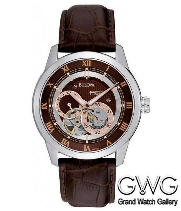 Bulova 96A120 мужские механические часы