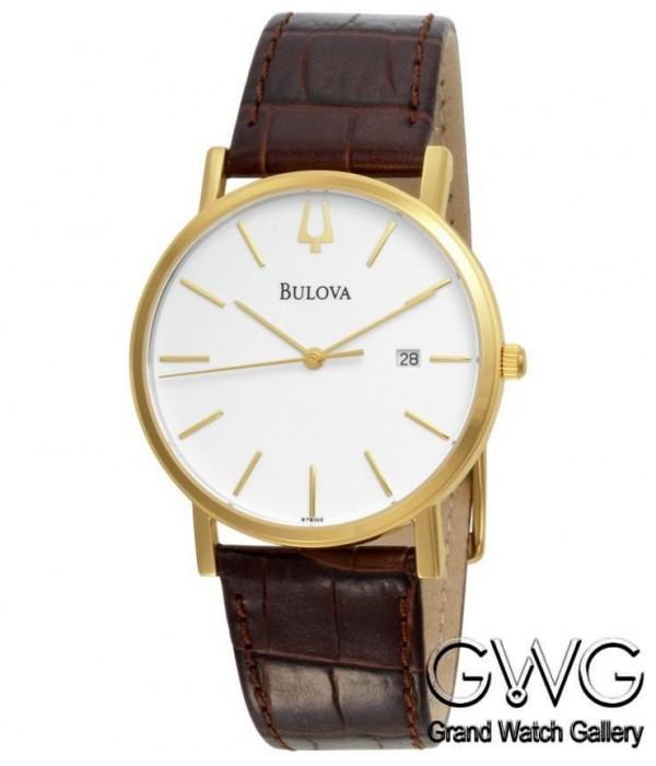 Bulova 97B100 мужские кварцевые часы