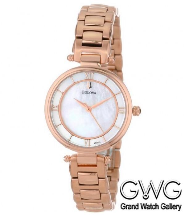 Bulova 97L124 женские кварцевые часы