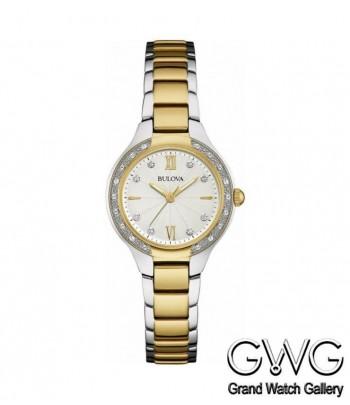 Bulova 98W221 женские кварцевые часы