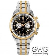 Jacques Lemans 1-1117GN мужские кварцевые часы