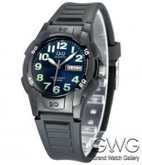 Q&Q A128J003Y мужские кварцевые часы
