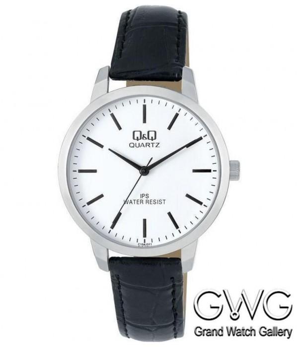 Q&Q C154J311Y мужские кварцевые часы