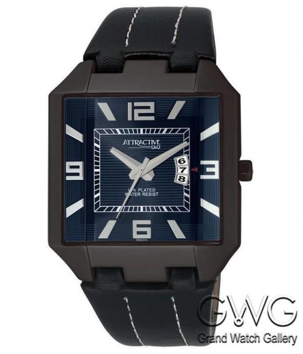Q&Q DB06J515Y мужские кварцевые часы