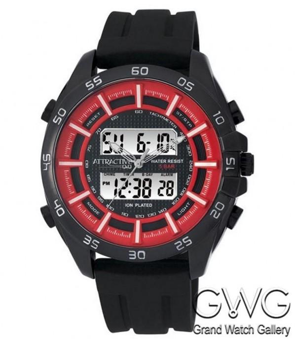 Q&Q DE08J542Y мужские кварцевые часы